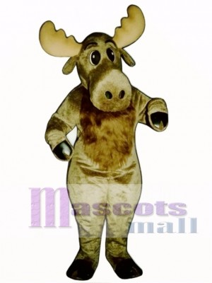 Cute Milton Moose Christmas Mascot Costume Animal