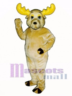 Cute Morty Moose Mascot Costume Animal