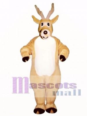 Cute Jolly Reindeer Deer Mascot Costume Animal