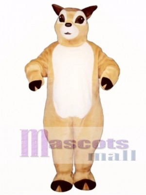 Cute Fawn Deer Mascot Costume Animal