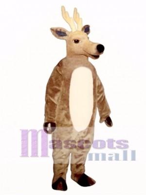 Cute Sleepy Deer Mascot Costume Animal