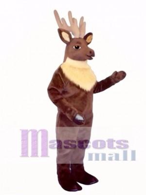 Cute Regal Elk Deer Mascot Costume Animal