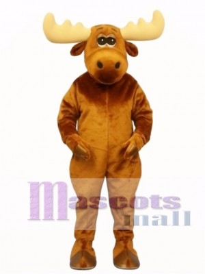 Cute Moony Moose Mascot Costume Animal