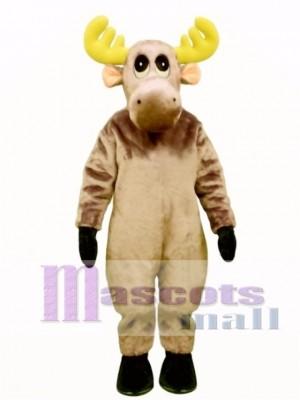 Cute Mildred Moose Mascot Costume Animal