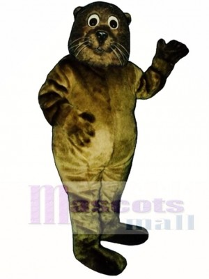 Cute Baby Sea Otter Mascot Costume Animal