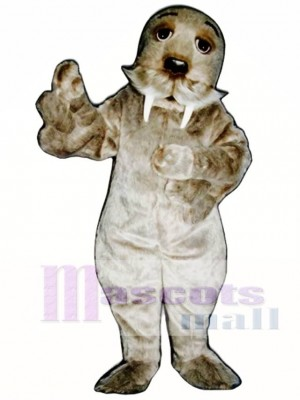 Cute Walrus Mascot Costume Animal