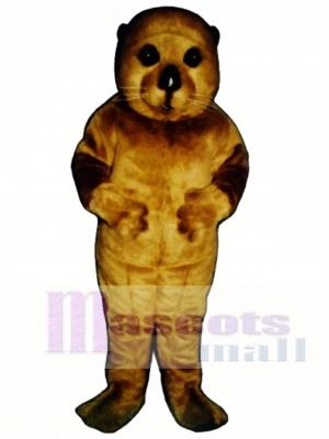 Cute Baby Otter Mascot Costume Animal