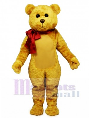 New Stuffed Teddy Bear with Bow Mascot Costume Animal