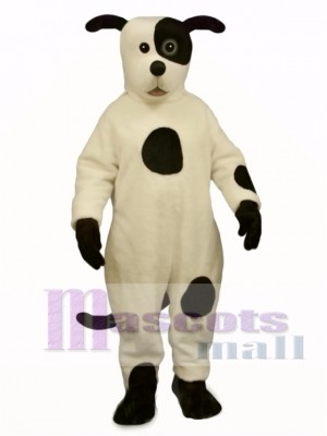 Cute Johnny Spot Dog Mascot Costume Animal