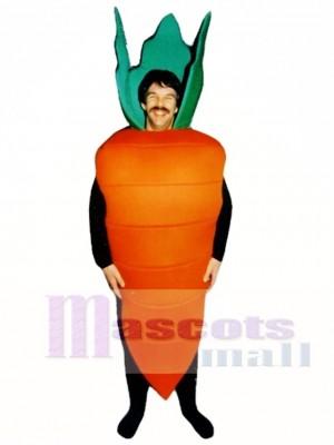 Carrot Mascot Costume Vegetable