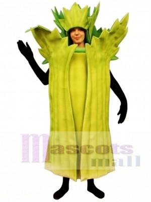 Celery Mascot Costume Vegetable