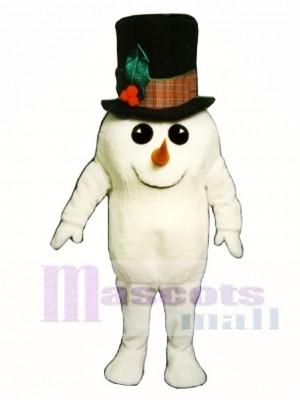 Madcap Snowman Mascot Costume Christmas Xmas