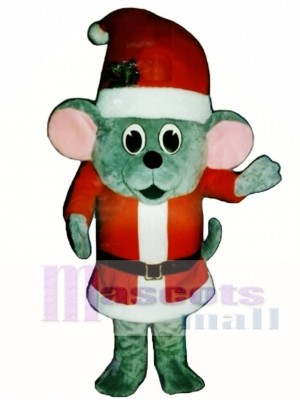 Madcap Santa Mouse Mascot Costume Animal