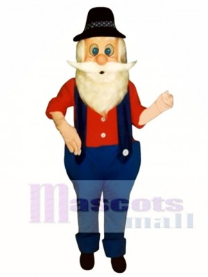 Hillbilly Harold Mascot Costume People