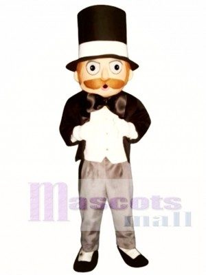 Suave Sam Mascot Costume People