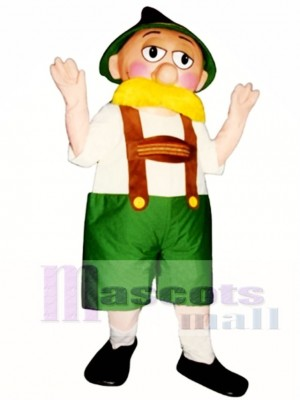 Alpine Man Mascot Costume People