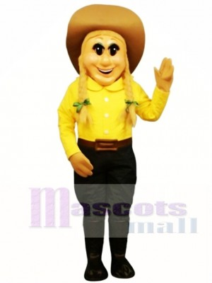 Cowgirl Mascot Costume People