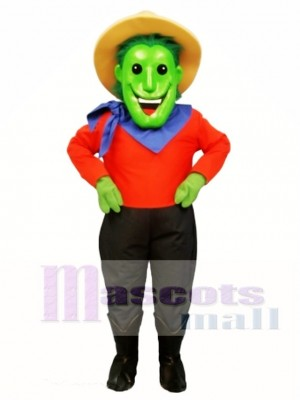Mr. Green Thumbs Mascot Costume People