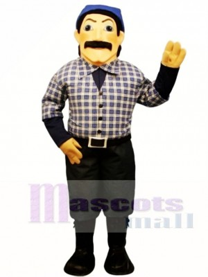 Timber Jack Mascot Costume People