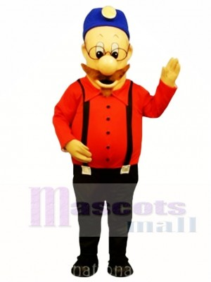 Manley Miner Mascot Costume People