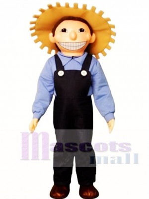 Farm Boy Mascot Costume People