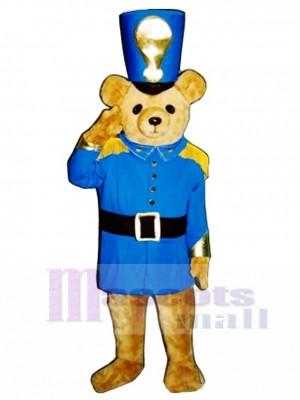 Soldier Bear Mascot Costume Animal
