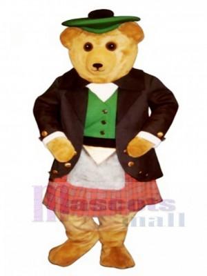 Argyle MacBear Bear Mascot Costume Animal