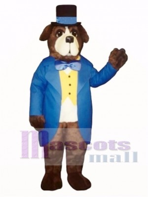 Cute Stanley Bernard Dog Mascot Costume Animal