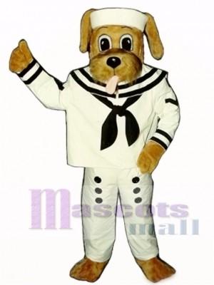 Cute Sailor Dog Mascot Costume Animal