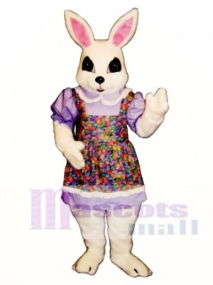 Cute New Easter Bethany Bunny Rabbit Mascot Costume Animal