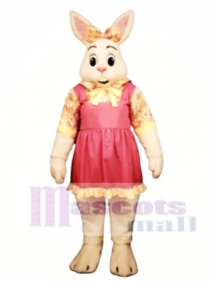 Cute Easter Alice Bunny Rabbit Mascot Costume Animal