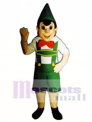 Boy Elf Mascot Costume Christmas Xmas