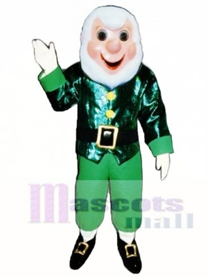 Grandpa Elf Christmas Mascot Costume People