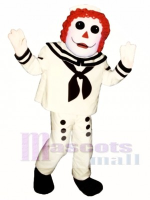 Boy Rag Doll Mascot Costume