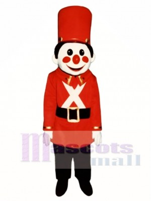 Toy Soldier Mascot Costume Christmas Xmas