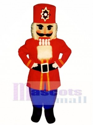 Nutcracker Christmas Mascot Costume