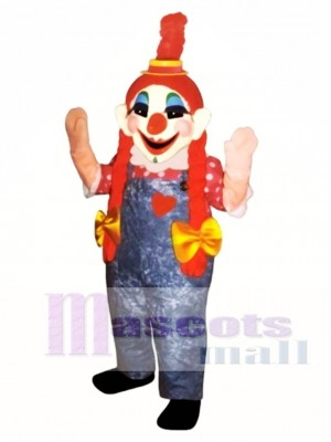 Clara Clown Mascot Costume