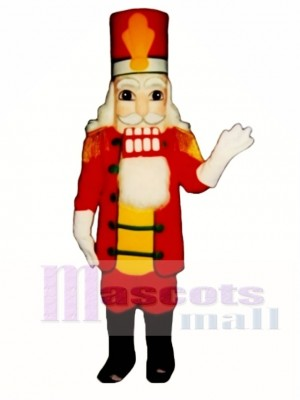 Marching Nutcracker Mascot Costume Christmas Xmas