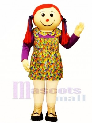 Molly Dolly Mascot Costume People