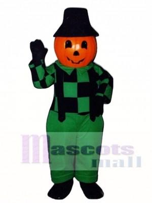 Blinkey Pumpkin Mascot Costume Plant