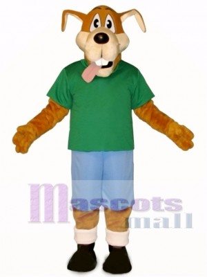 Cute Hank Dog Mascot Costume Animal