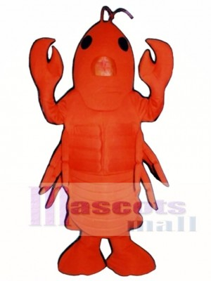 Cute Lobster Mascot Costume Animal