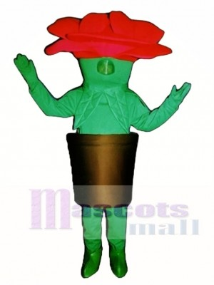 Potted Flower Mascot Costume Vegetable