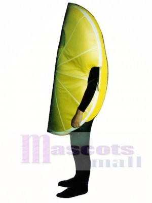 Lemon Wedge Mascot Costume Fruit