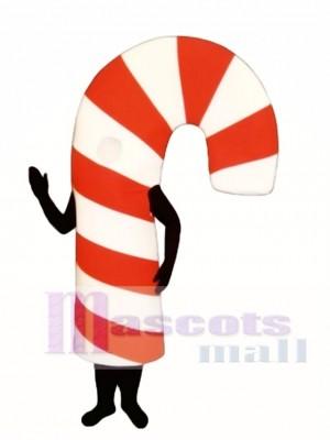Candy Cane Mascot Costume Christmas Xmas