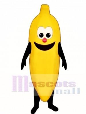 Happy Banana Mascot Costume Fruit