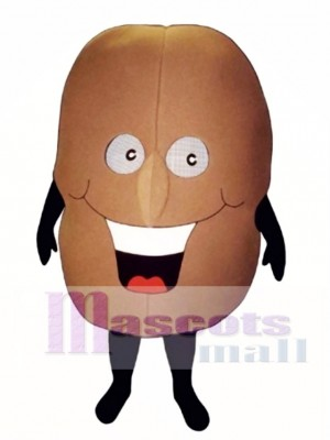 Coffee Bean Mascot Costume Vegetable