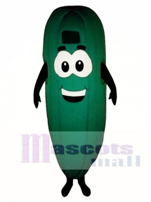 Cucumber Mascot Costume Vegetable