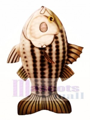Striped Bass Mascot Costume Animal