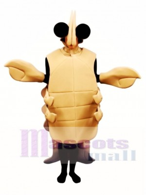 Tan Crayfish Mascot Costume Animal